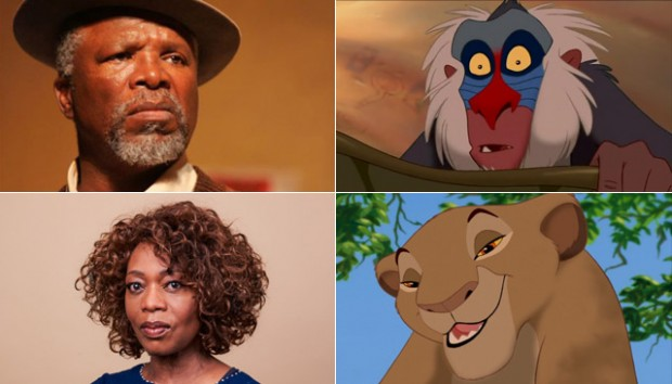 John Kani and Alfre Woodard in The Lion King