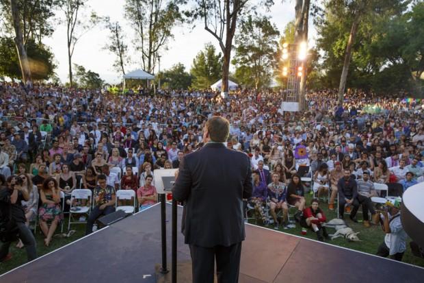 John Lasseter Receives Honorary CalArts Degree