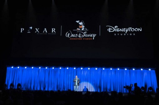 John Lasseter at the D23 Expo