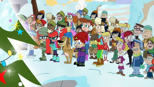 Johnny Test's A Holly Johnny Christmas episode
