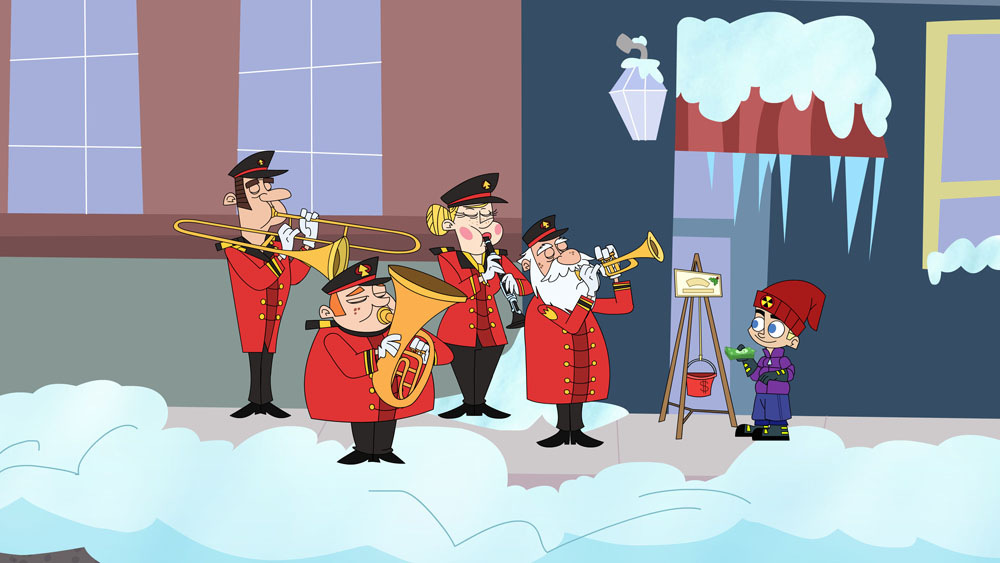 Johnny Test\'s A Holly Johnny Christmas episode