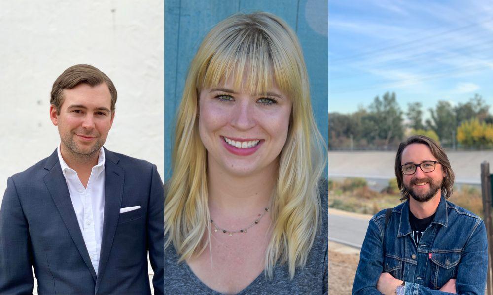 Jonny Gutman, Cassie Conway, Mark Doyle