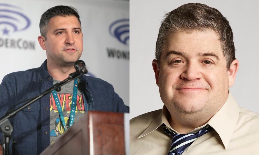 Executive producers Jordan Blum and Patton Oswalt