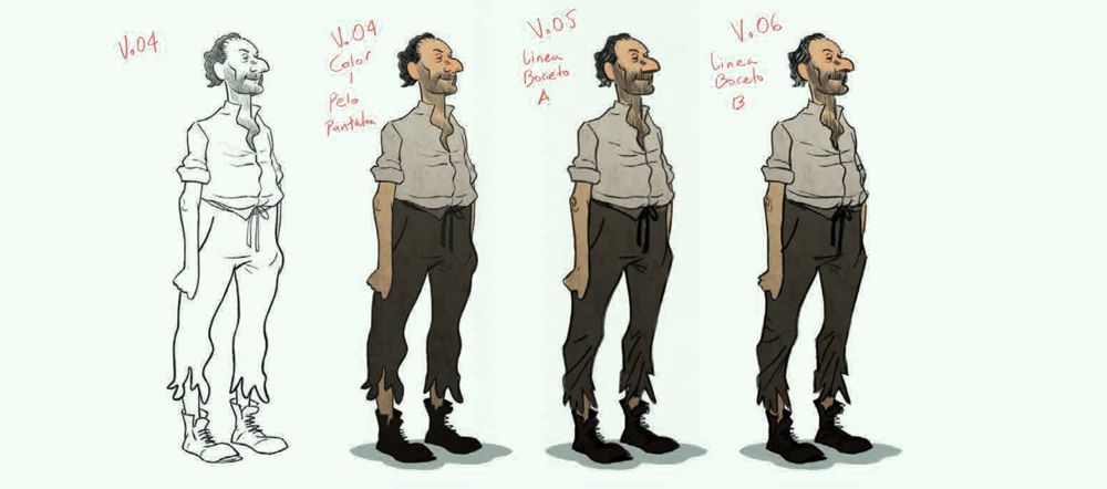 Josep character development