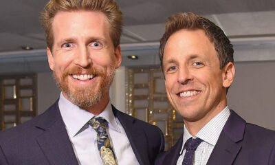 Josh Meyers (L) and Seth Meyers [Photo: Michael Loccisano/Getty Images for Amazon Studios]