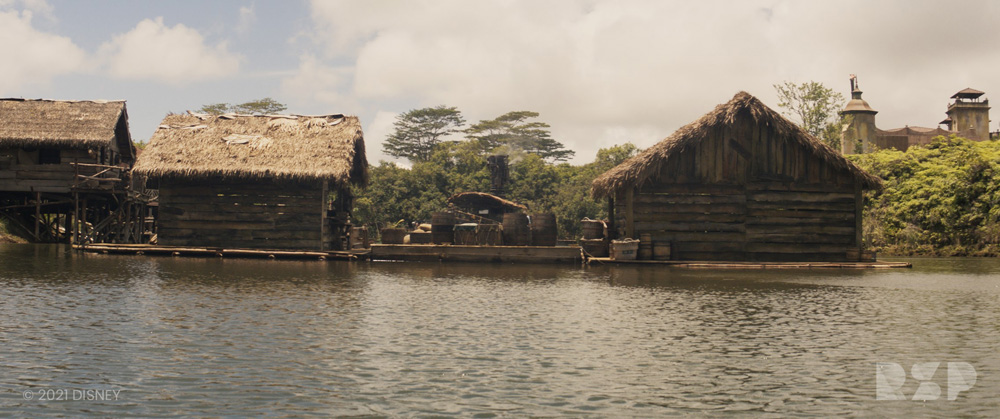 Disney's Jungle Cruise (images courtesy Rising Sun Pictures)