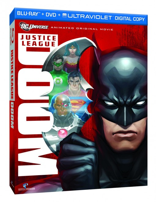 Justice League: Doom Blu-Ray Combo Pack