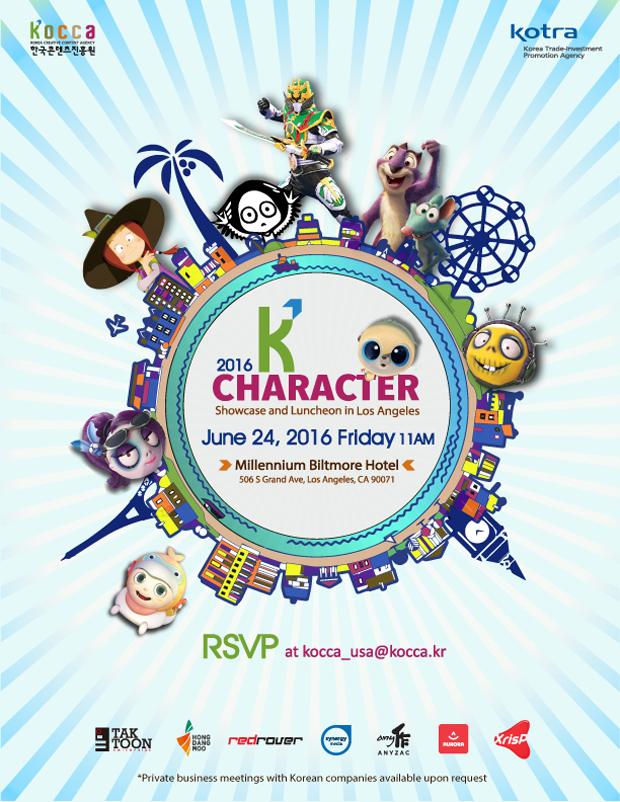 K Character Showcase