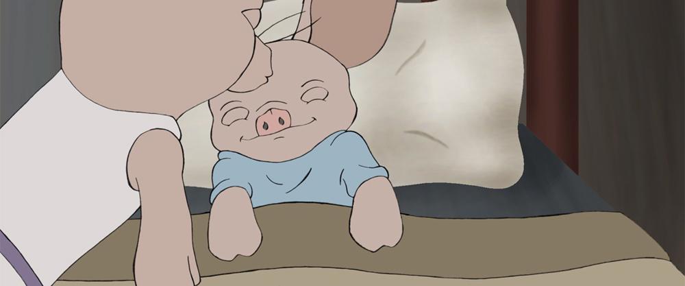 Kazumi the Racecar Pig