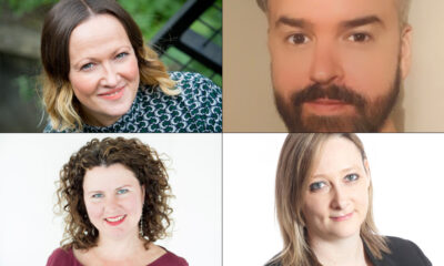 From top left to right: Kelly Bradshaw, Craig Orr, Kate Sils and Jemma Yates