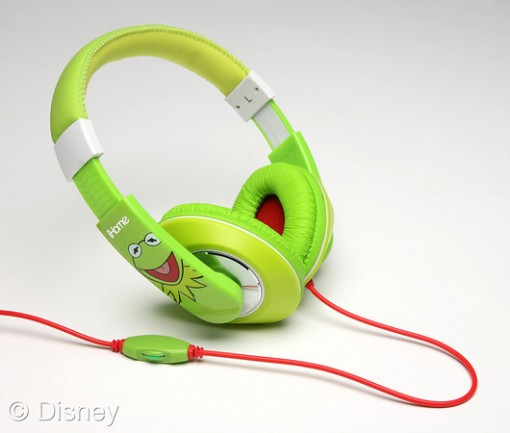 Kermit headphones