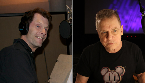 (From left) Kevin Conroy and Mark Hamill