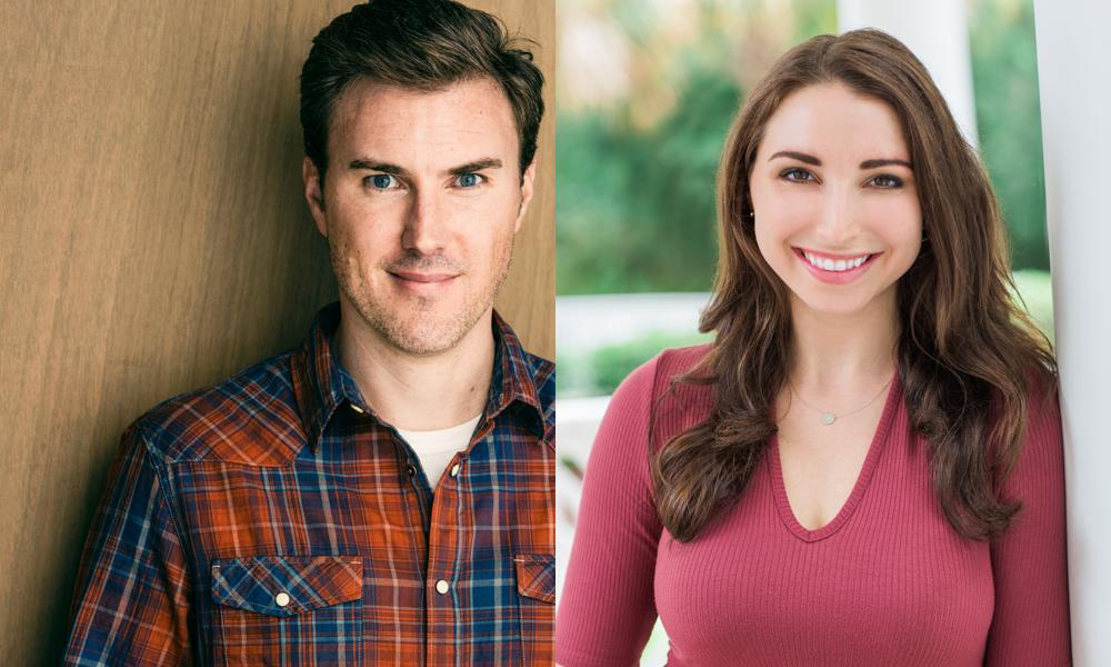 Kevin Fleming y Leila Gorstein