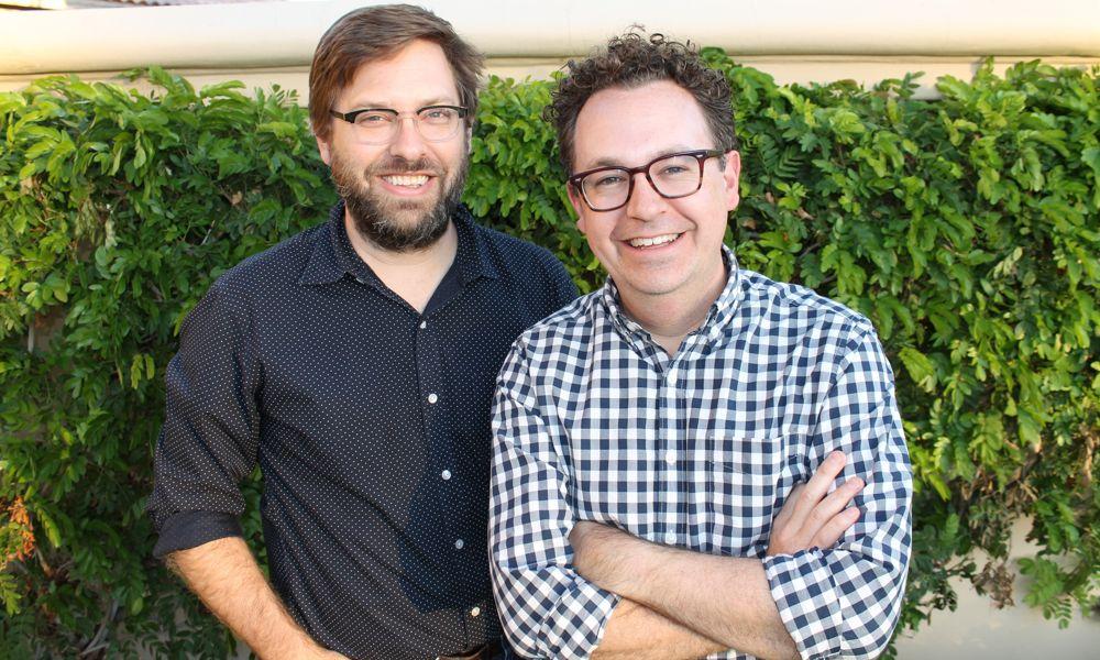 Kevin and Dan Hageman