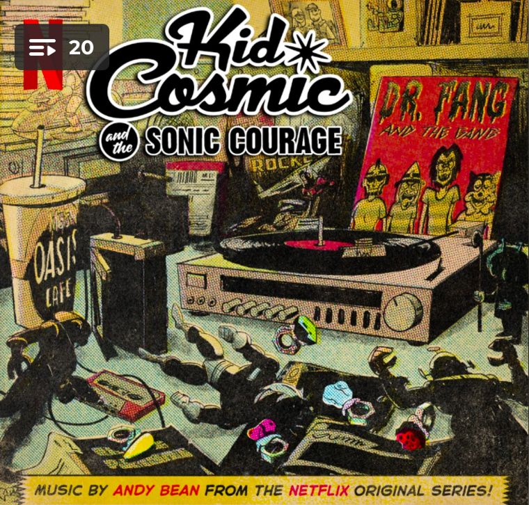 Kid Cosmic and the Sonic Courage