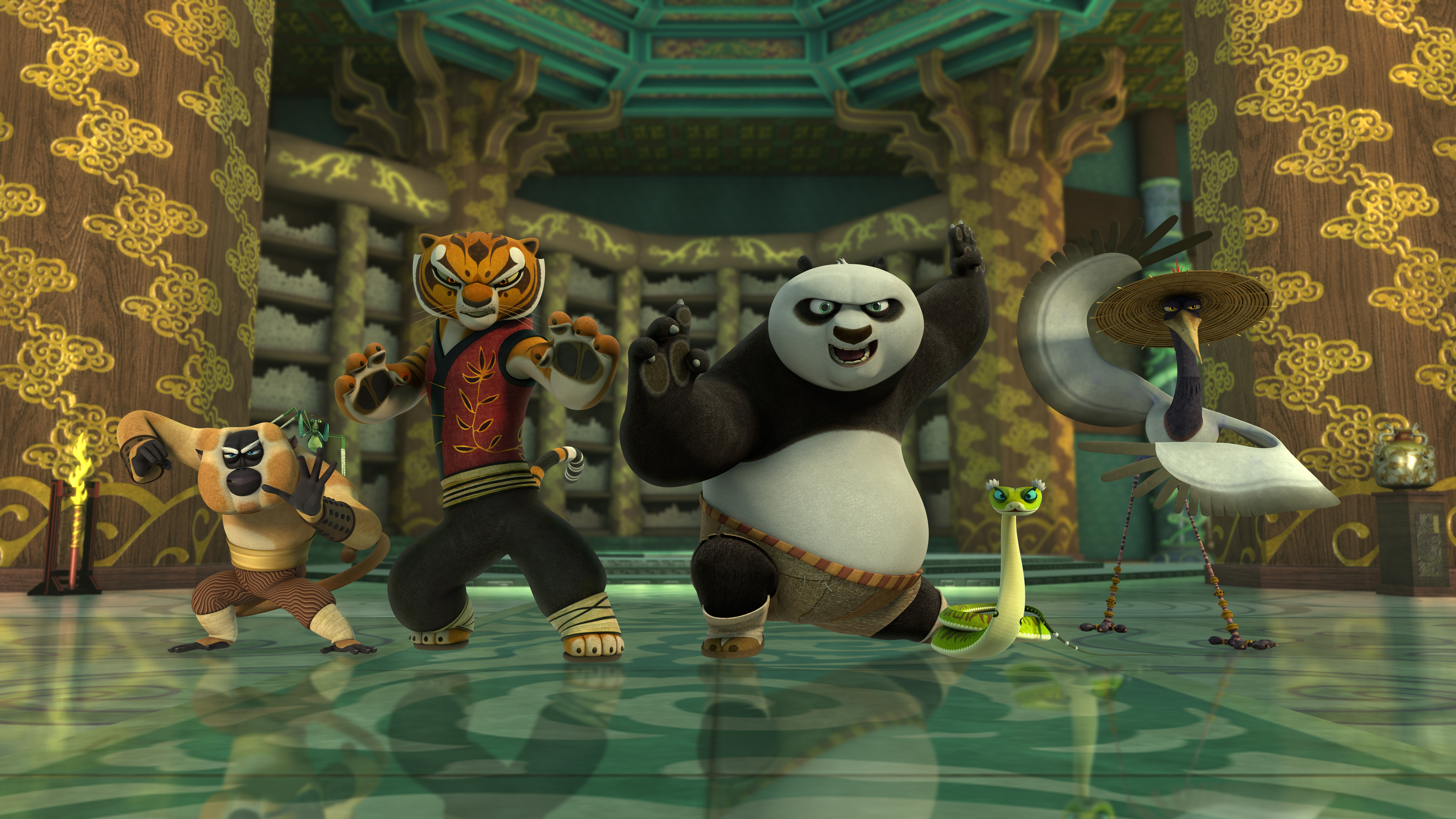 Kung Fu Panda Legends Of Awesomeness S02E14 Invitation ...