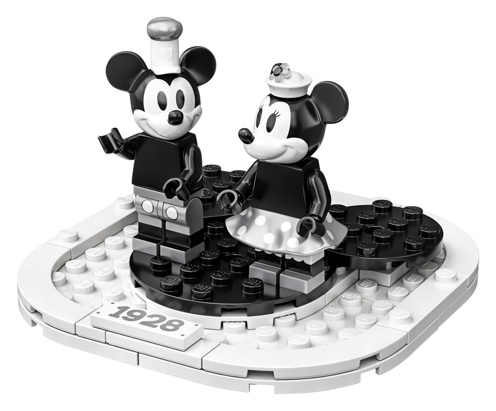 LEGO Ideas 21317 Steamboat Willie set
