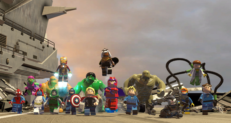 Lego Marvel Super Heroes Full Movie - YouTube