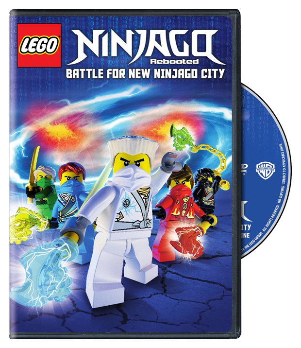 LEGO Ninjago: Rebooted - Battle for New Ninjago City