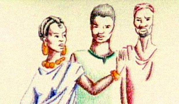 La femme mariée à trois hommes