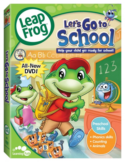 LeapFrog: Let's Go to School DVD