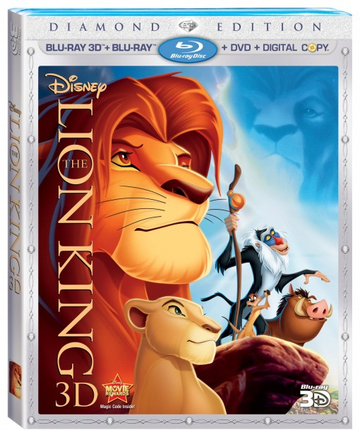 The Lion King 4 Disc Combo Pack
