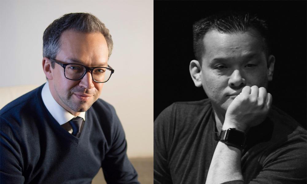 Louis-Simon Menard and Jay Oliva