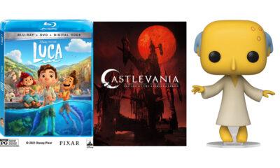 Luca | Castlevania: The Art of the Animated Series | Mr. Burns POP!