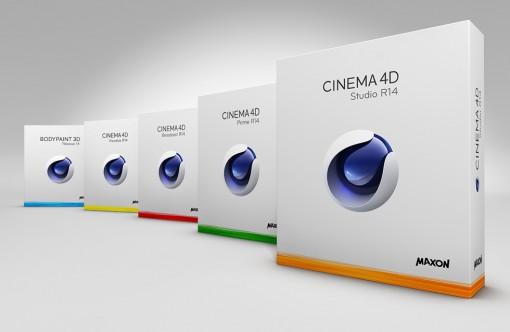 MAXON CINEMA 4D R14