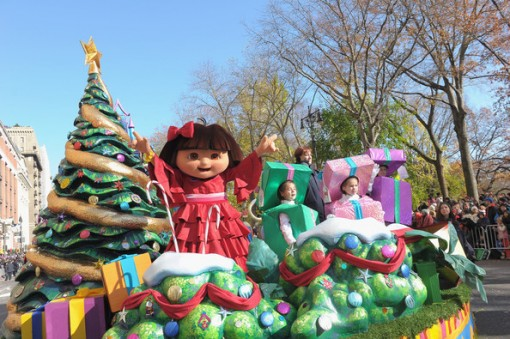 Dora the Explorer float