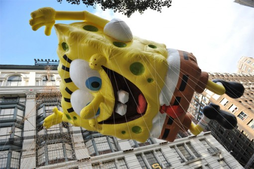 SpongeBob SquarePants float
