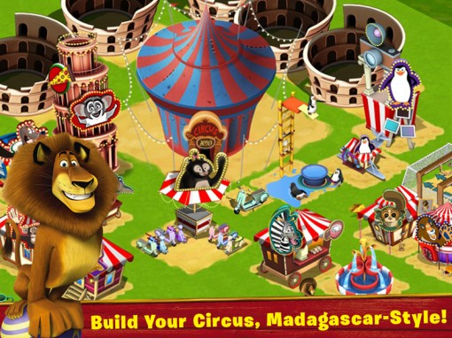 Madagascar: Join the Circus!