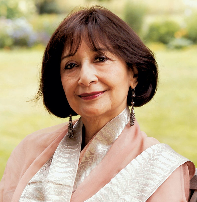 Madhur Jaffrey [Photo: Lisa Levart]