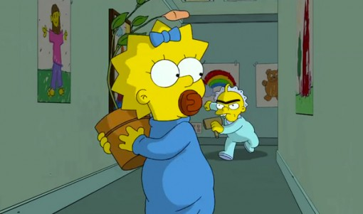 "Maggie Simpson in ""The Longest Daycare"""