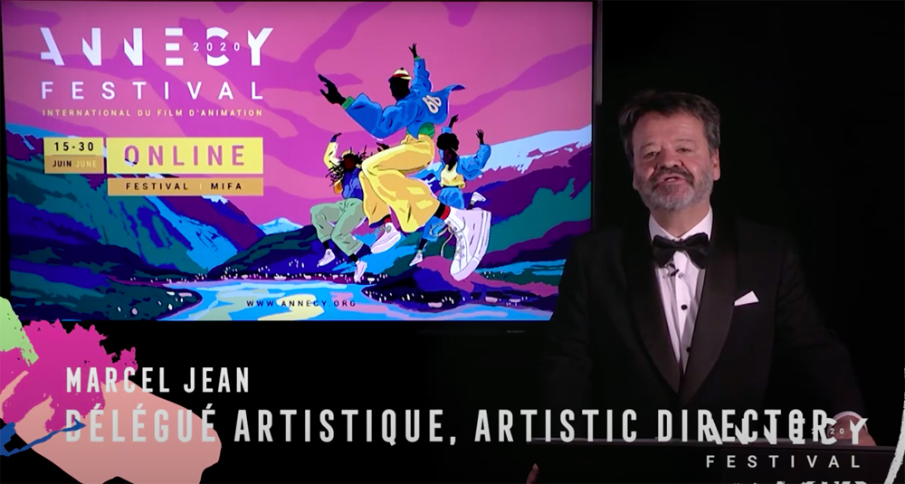 Marcel Jean from The Annecy International Animation Festival