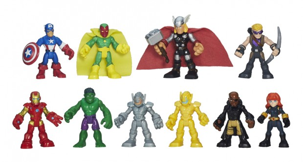 Marvel Super Hero Adventures action figures