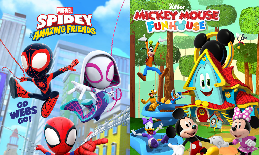 Marvel's Spidey and his Amazing Friends   Mickey Mouse Funhouse