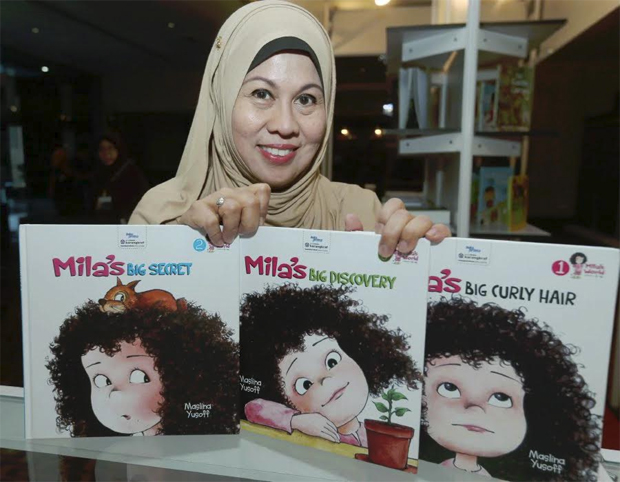Mila author Maslina Yusoff (photo by Shiraz Yasmine Ali)