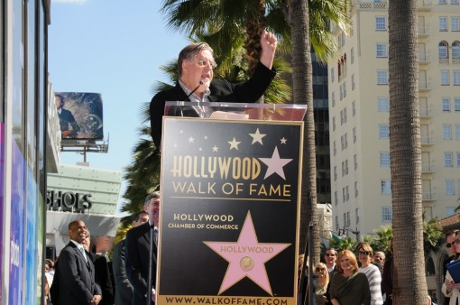 THE SIMPSONS Creator and Executive Producer Matt Groening during the Star Dedication on the Hollywood Walk of Fame Tuesday, Feb. 14 in Hollywood, CA. THE SIMPSONS © 2012 TCFFC ALL RIGHTS RESERVED. CR: Scott Kirkland/FOX