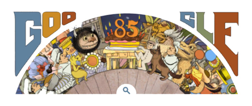 Animated Google Doodle Honors Maurice Sendak