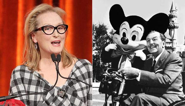 Meryl Streep's Anti-Disney Speech Sparks Controversy