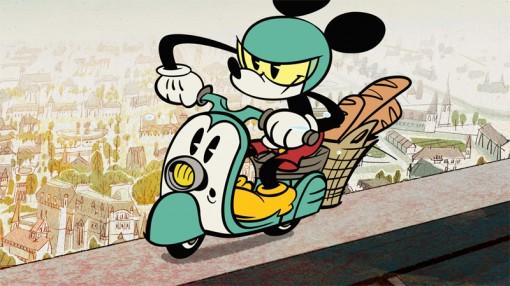 Disney Mickey Mouse Croissant de Triomphe
