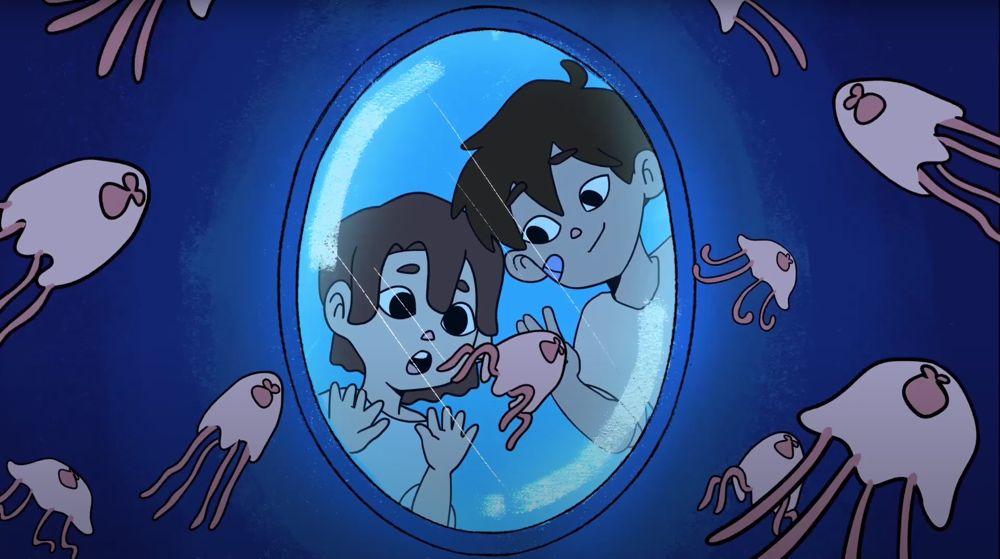 SVA 2020 third-year group film Midnight Aquaroom.