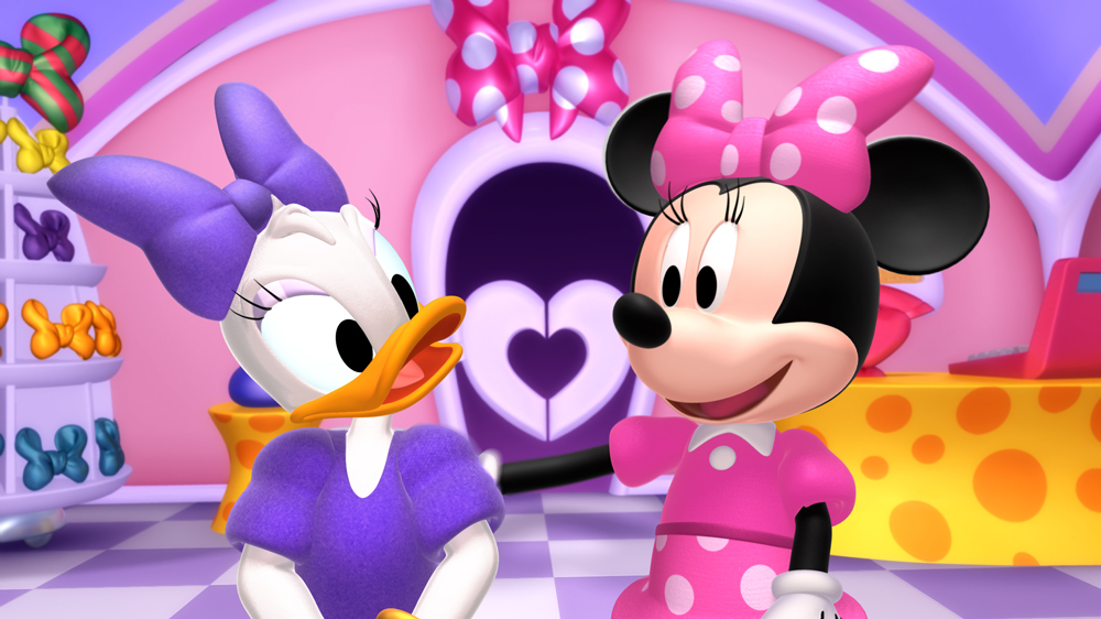 39 minnie 39 s bow toons 39 shorts premiere nov 14 animation. Black Bedroom Furniture Sets. Home Design Ideas