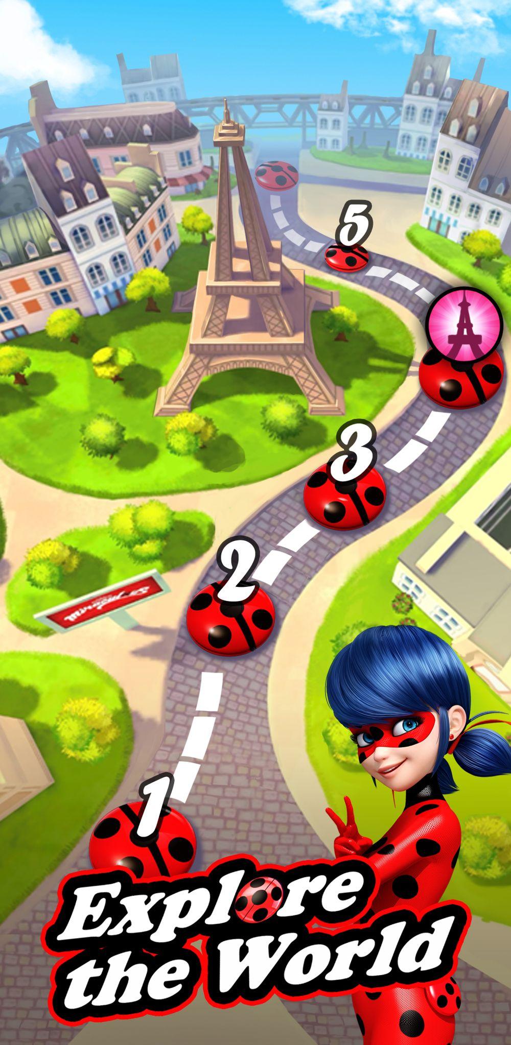 Miraculous LadybugPuzzle RPG