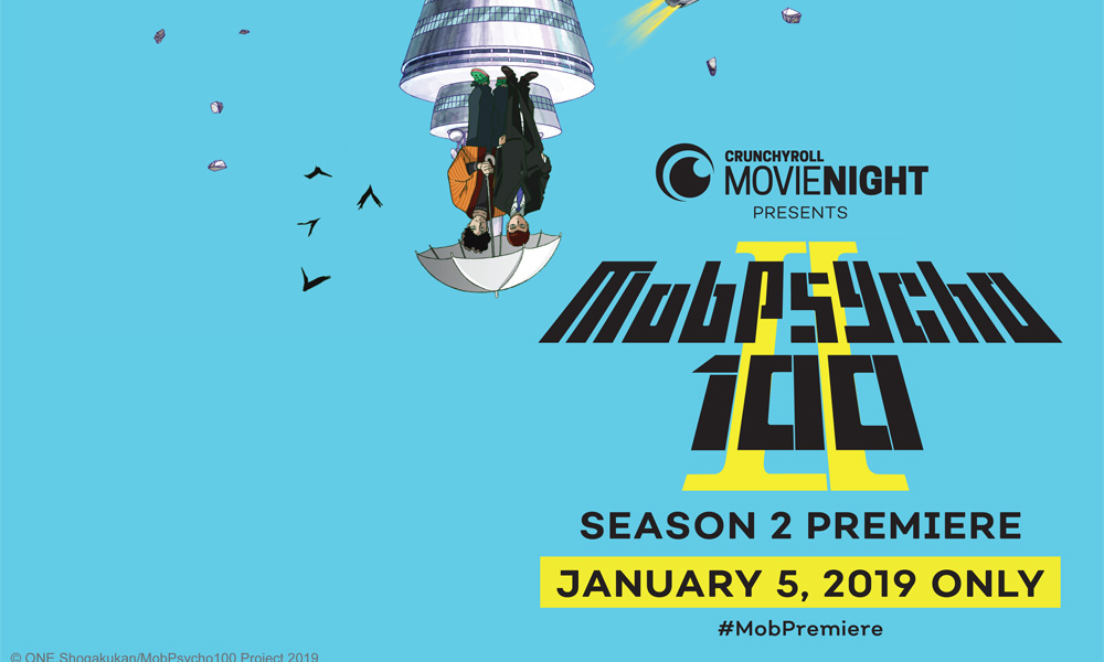 Crunchyroll & Fathom's Movie Night Returns with 'Mob Psycho