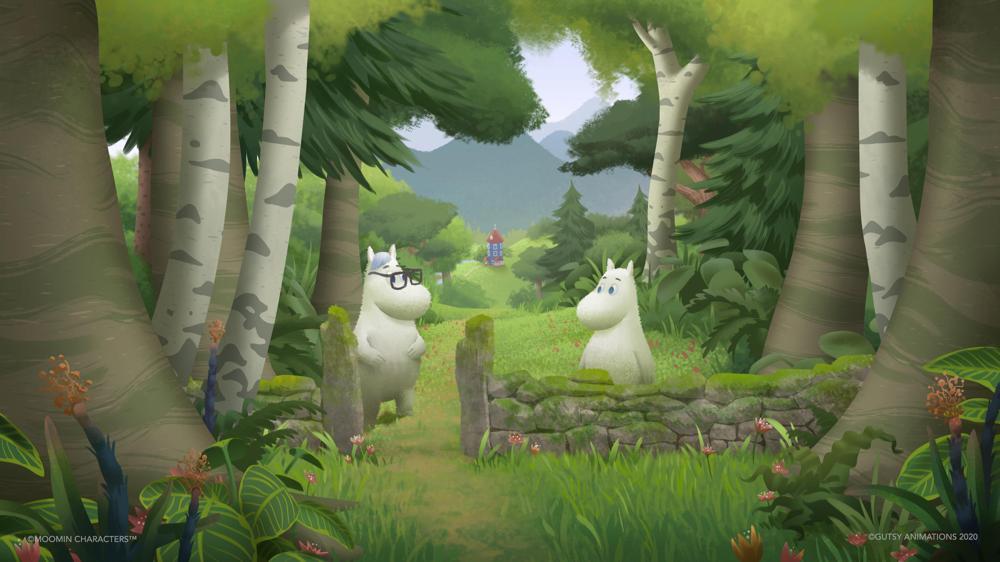 Arte conceptual de Moominvalley S3 cortesía de Gutsy Animations