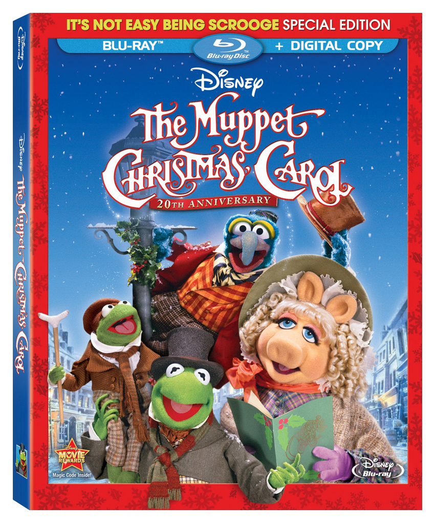 The Muppet Christmas Carol.Hot Release Muppet Christmas Carol On Blu Ray