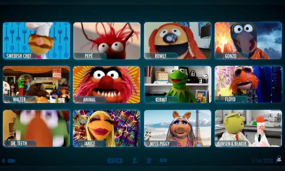 It's Time to Put on Makeup! This video call trailer for the Disney+ show Muppets Now was a harbinger of how we'll continue to interact in 2021.