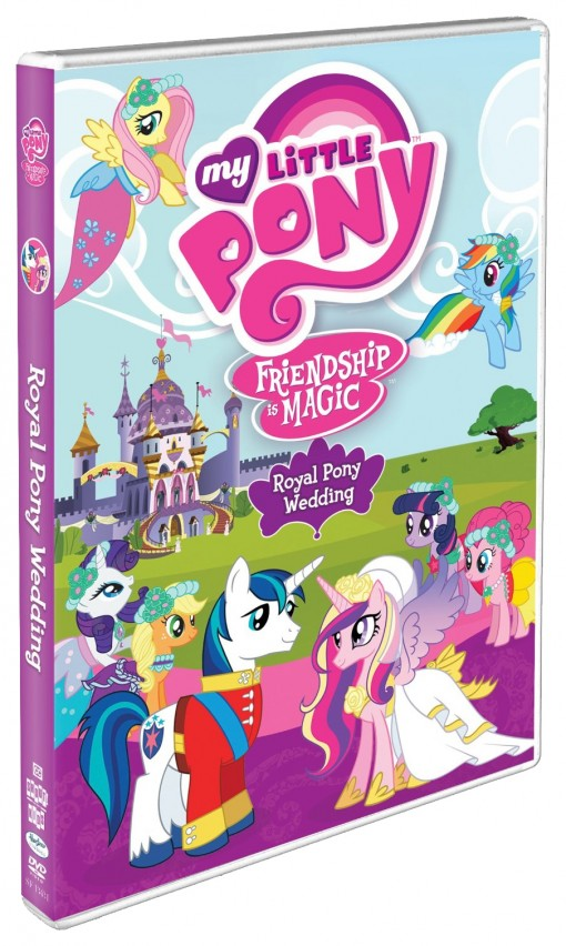 My Little Pony - Friendship Is Magic: Royal Pony Wedding DVD
